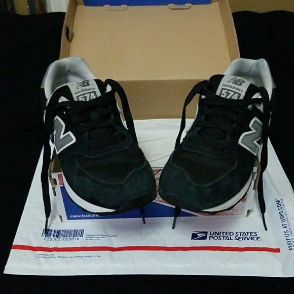ee47d6eb0115b New Balance Shoes | Black And Gray 574 Size 15 Kids | Poshmark